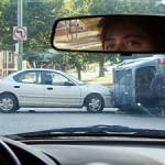 dopravná nehoda - mikrospánok