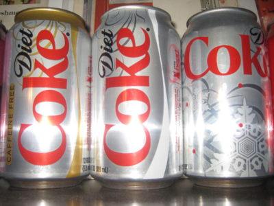diétne  kolové nápoje