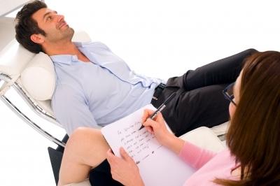 pacient vo vyšetrovacom kresle