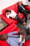 spiaci kolegovia na porade