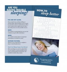 informácie o na tému nespavosť a o možnostiach liečby