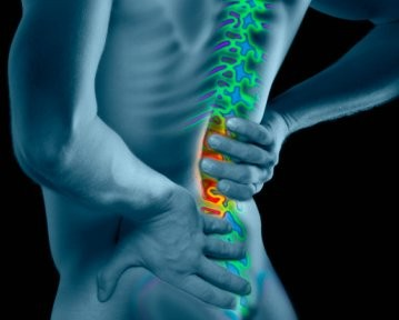 ilustrácia - bolesť chrbtice