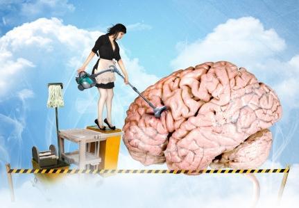 upratovanie mozgu