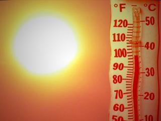 extrémne teploty