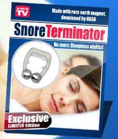 snore terminator  - obrázok z reklamnej stránky produktu